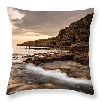 Seacombe Bay Throw Pillow