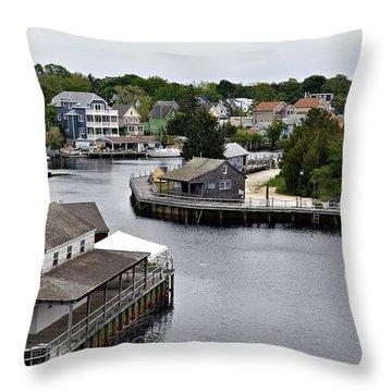 Seaport Throw Pillow by Allen Beilschmidt