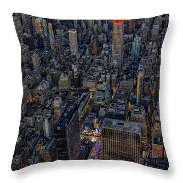 September 11 Nyc Tribute Throw Pillow