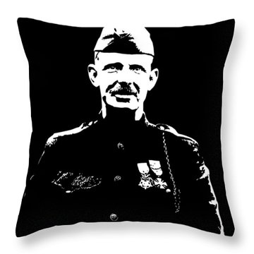 Sergeant Alvin York Graphic Throw Pillow