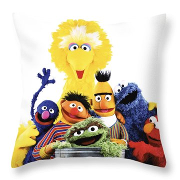 Sesame Street Throw Pillow