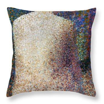Seurat: Model, C1887 Throw Pillow by Granger