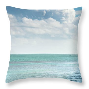 Seven Mile Fishing Throw Pillow