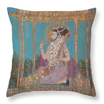 Shah Jahan Throw Pillow