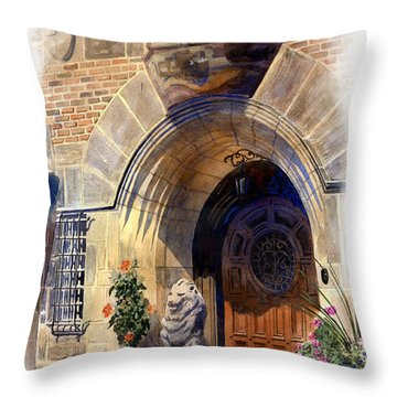 Shaker Heights Throw Pillow by Andrew King