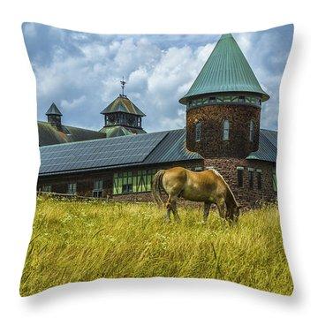 Shelburne Farms. Throw Pillow