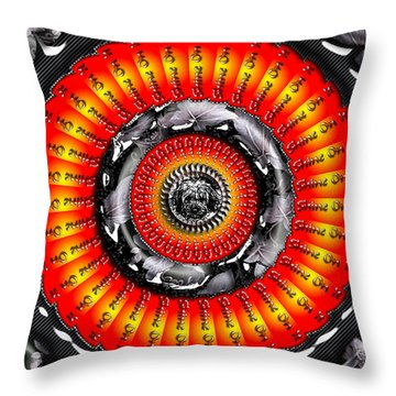 Shine On It Throw Pillow by Robert Orinski