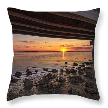 Shinnecock Sunset Throw Pillow