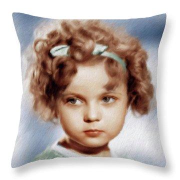 Shirley Temple Throw Pillows