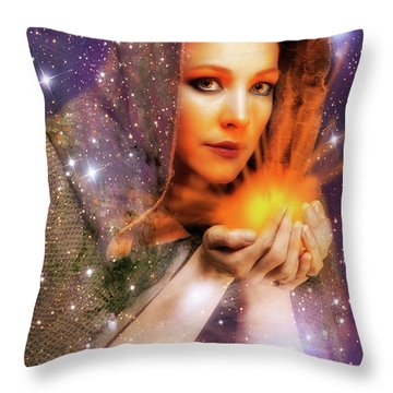 Sige Throw Pillow