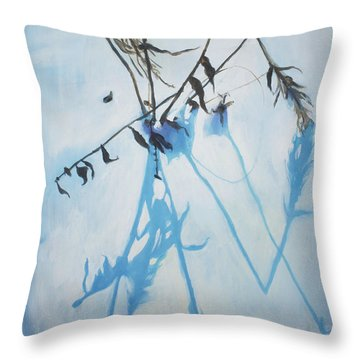 Silent Winter Throw Pillow