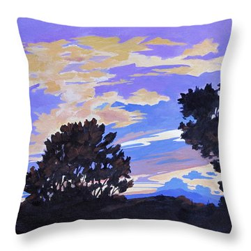 Silhouettes Throw Pillow
