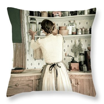 Throw Pillow featuring the photograph Simple Life 9 by Julie Palencia