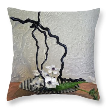 Simplicity Throw Pillow by Don Wright