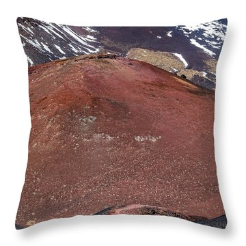 Size Matters Throw Pillow