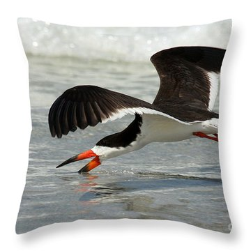Skimming Throw Pillow