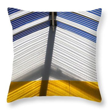 Skylight Abstract 100 Throw Pillow