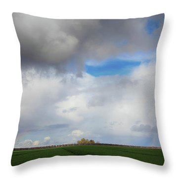Skyward Throw Pillow by Laurie Search