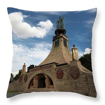 Throw Pillow featuring the photograph Slavkov Peace Memorial by Michal Boubin