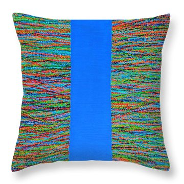 Small Door Throw Pillow by Kyung Hee Hogg