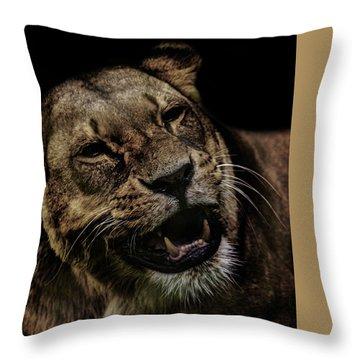 Smile Throw Pillow by Martin Newman