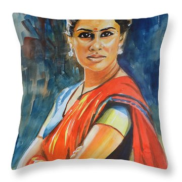 Smita Throw Pillow