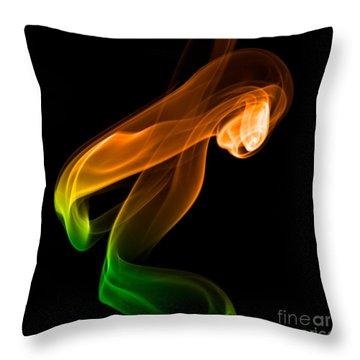 smoke XIV Throw Pillow