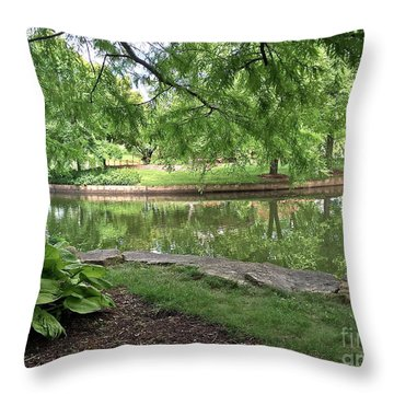 So Still Throw Pillow