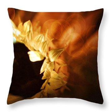 Soft Sunflower Throw Pillow