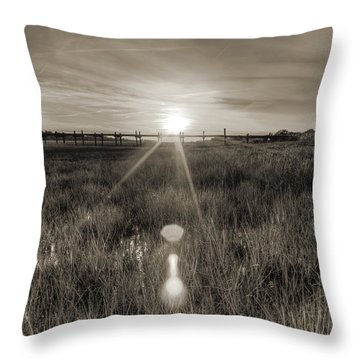 Sol Legare Sunset Throw Pillow by Dustin K Ryan