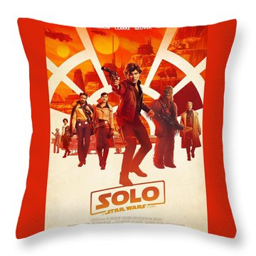Solo A Star Wars Story Throw Pillow