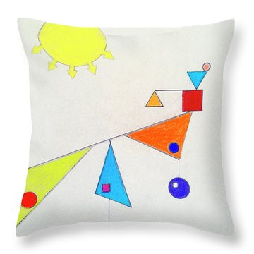 Something New Under The Sun Throw Pillow
