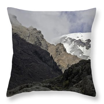 Throw Pillow featuring the photograph Somewhere In New Zealand by Yurix Sardinelly