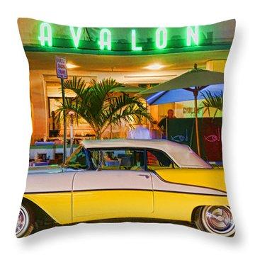 South Beach Classic Throw Pillow by Dennis Cox WorldViews