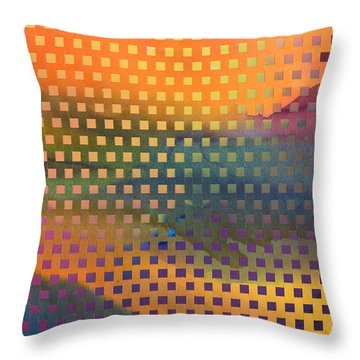 Southwest Landscapes Throw Pillow