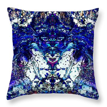 Space Harmonizer Throw Pillow