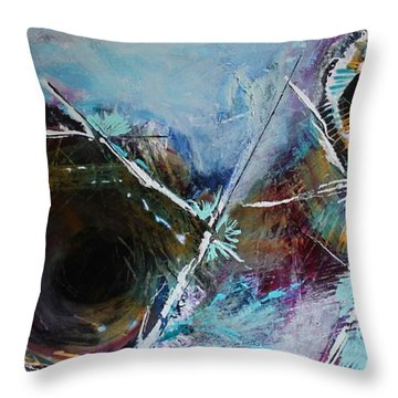 Spare Change Throw Pillow