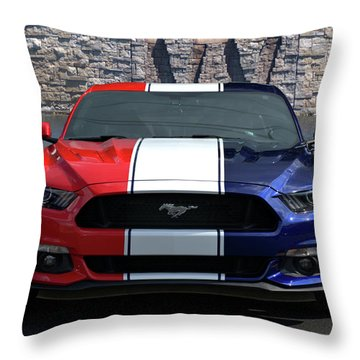 Special Edition 2016 Ford Mustang Throw Pillow