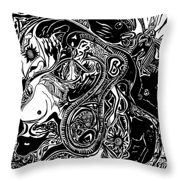 Spiritualbecoming Throw Pillow