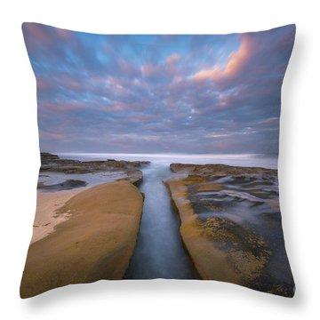 Where Worlds Divide  Throw Pillow