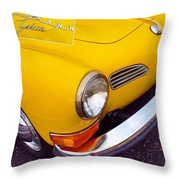 Spotted This #car Today While Throw Pillow