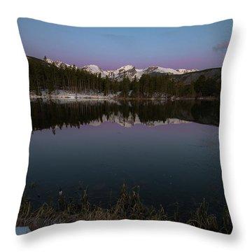 Sprague Lake Throw Pillow