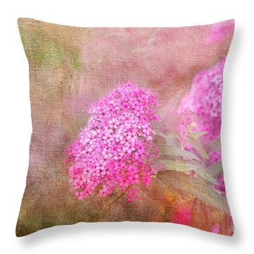 Throw Pillow featuring the photograph Springtime by Betty LaRue