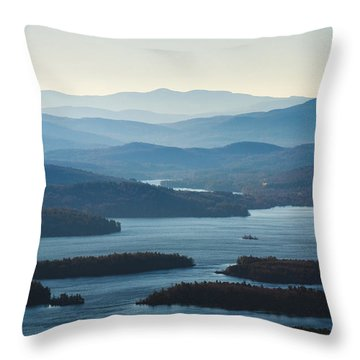 Squam Lake Throw Pillow