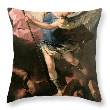 St. Michael Throw Pillow