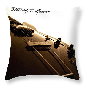 Stairway To Heaven Throw Pillow by Christopher Gaston