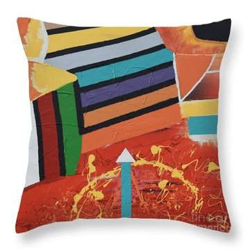 Stairway To Heaven Throw Pillow