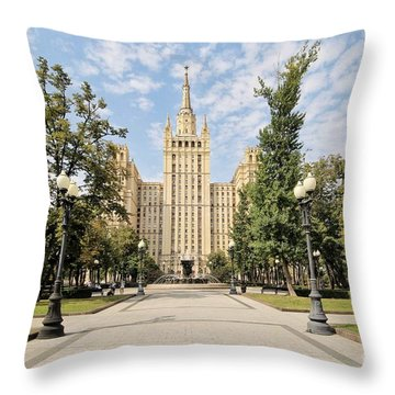 Kudrinskaya Square Throw Pillow