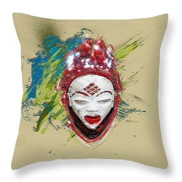 Star Spirits - Maiden Spirit Mukudji Throw Pillow