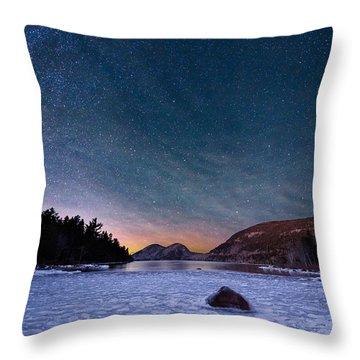 Stars On Ice Throw Pillow